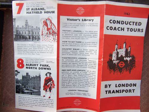 1962 transport leaflet
